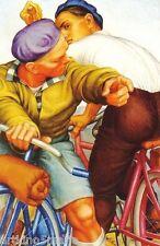 PAUL CADMUS BICYCLISTS  EXPRESSIONISM FIGURE ART GICLEE PRINT FINE CANVAS