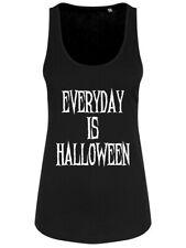 Everyday is Halloween Noir Femme Ample Tank Vest