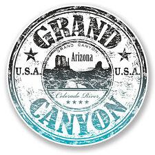 2 x 10cm Grand Canyon Arizona USA Vinyl Sticker Laptop Travel Luggage Gift #6518
