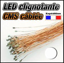 weiss 25 ou 100pcs 10 SMD white 138BL# LED CMS 0805 clignotante blanc