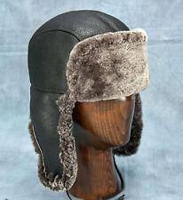 NEW Aviator Hat (Brown) - 100% Sheepskin by Northern Hats (SKU: 17K-BRN)