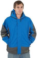 Nueva Chaqueta con capucha para hombre lluvia de las Gafas Ubicación técnico Impermeable Abrigo De Invierno