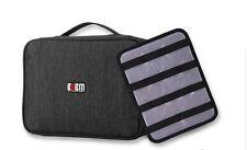 BUBM Large Travel Digital Storage ACCESSORIES BAG Data Cable Organizer kits