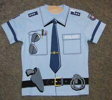 T-Shirt Polizei Polizeishirt 5550 Fasching Kindershirt Kids-Shirt