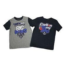 AFL Carlton Blues Kids 2-Piece T-Shirt Set  Sizes 1 - 6