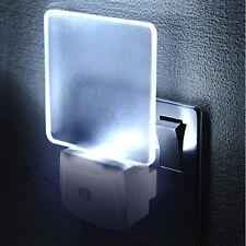 LED Wall Sensor Plug In Energy Saving Safety Bedroom Night Lamp Light Lighting
