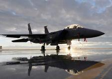 MA18 Military Aircraft F15 F-15E Strike Eagle Fighter Jet Plane Poster - A2 A3