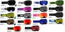 509 Aviator Dual Pane Anti-Fog Lens Snowmobile Sno-X Snowboard Ski Goggle