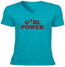 Women Cute Graphic Rose Flower Unisex Tee T-Shirt S~2X VNeck Shirts Short Sleeve