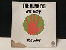 TNE DONKEYS No way 6059272 New wave punk