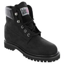 Safety Girl Steel Toe Waterproof Women's Work Boots - Black