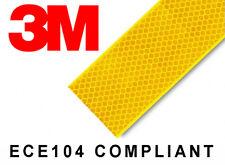 3M 983 Yellow Reflective Tape 55mm x 12.5m ECE104 Compliant (3M Diamond Grade)