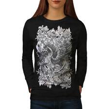 Epic Licorne Cheval Femmes T-shirt à manches longues Nouveau | wellcoda