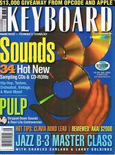 THE BAND Hammond B3 Class AKAI S2000 Clavia Nord Lead Rev 1996 Keyboard Magazine