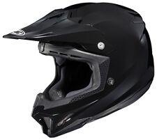 HJC CL-X7 Solid Gloss Black ATV MX Off Road Motocross Motorcycle Riding Helmet