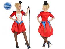 Costume Domatrice Circo Donna vestito rosso circense del circo Atosa carnevale