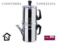 ILSA CAFFETTIERA NAPOLETANA ALLUMINIO 3/4 TAZZE 4/6 TAZZE CL 25 E CL 45 CAFFE'