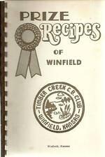*WINFIELD KS 1970s VINTAGE *PRIZE RECIPES *CB CLUB COOK BOOK *LOCAL ADS *KANSAS