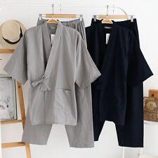 Chinese Japanese Oriental Mens Martial Kung Fu Kimono Pyjamas Pajama menpjs1213