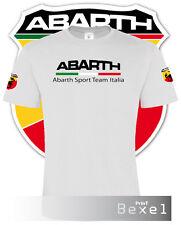 Tshirt Fiat ABARTH 595 stampata Maglietta T-shirt Training 100% Cotone cl bi