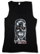 Skullhead MODEL t-800 donna Tank Top Cyberdine Skynet Movie Cyborg Terminator