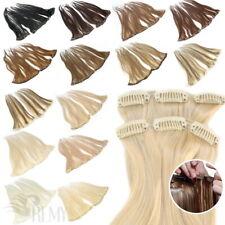 Clip In Extensions 3 Teile 55g, 6 Teile 110g Remy Echthaar Haarverlängerung 60cm