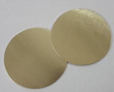 Ronden Aluminium 50mm gold champagne