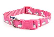 Ancol Unicorn Indulgence Dog Collar & Lead Pink Fashion Adjustable Nylon Strong