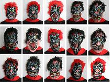 NEU - Karneval Fasching Maske Gesicht Monster Zombie Horror Grusel Halloween