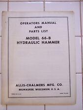 Allis-Chalmers_66-B Hydraulic Hammer_OM_TPL- 503
