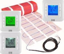 elektrische FUßBODENHEIZUNG qm 1 2 3 4 5 6 7 8 9 10 m² Mit Zertifizierung