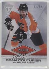 2011-12 Panini Titanium #190 Sean Couturier Philadelphia Flyers RC Hockey Card