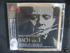 Adolf Busch Plays Bach Vol. 1 (I) korea cd new
