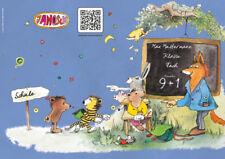 JANOSCH-Heft A4, »Fröhliche Schulstunde«, Druck, Farbe und Lineatur wählbar