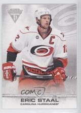 2011-12 Panini Titanium #90 Eric Staal Carolina Hurricanes Hockey Card