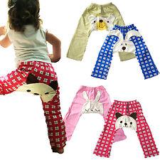 Japanese Baby Toddler Pants Cute Kawaii Animal Infant Sleepwear Light Leggings