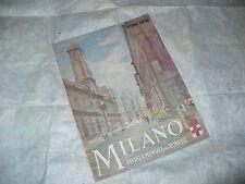 MILANO RIVISTA MENSILE DEL COMUNE NOVEMBRE 1942 XXI COPERTINA ILL.MANTOVANI
