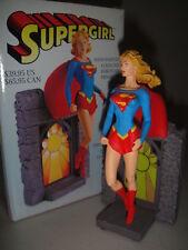 SUPERGIRL Mini-STATUE Maquette Bust SUPERMAN DC Comics