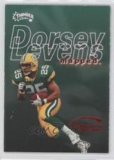1998 Skybox Thunder Destination Endzone 9DE Dorsey Levens Green Bay Packers Card