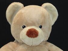 CUTE BIG SMILE BROWN BUILD A BEAR SITTING PLUSH TEDDY BEAR STUFFED ANIMAL TOY