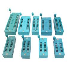 16P 20P 28P 32P 40P Sockets 16 20 28 32 40 Pins Test Universal ZIF IC Socket
