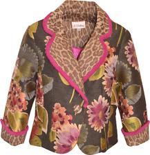 3 Sisters Jacket NWT 3S116 Leoni XS,S Women's Crop Blazer Dressy Coat USA 5267