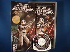 PSP Star Wars II Battlefront Video Game