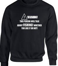 pesca peces hombre sudadera - Divertido Afición de tendencia REGALO Rod Lake MAR