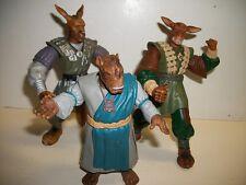 3 Warriors of Virtue Action Figures
