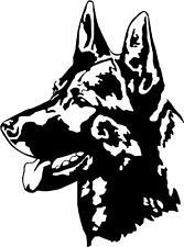 BERGER allemand / alsacien GSD voiture chien, Van Autocollant Fenêtre lsgsd5 grande