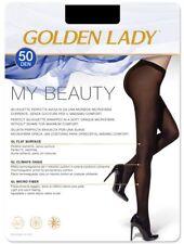 """Golden Lady Strumpfhose """"My Beauty 50"""" OHNE NÄHTE Gr. S - M - L - XL"""