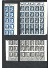Deutsches Reich 1938/1942, verschiedene Bogenteile ex MiNrn: 781 - 798 + 662 o