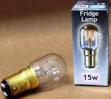 1/2 15/25w lámpara SES/dispositivo de SBC Máquina de Coser/Microondas/Nevera/Cerámica