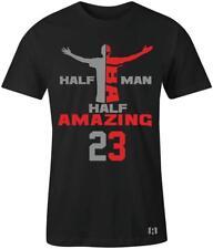 """Half Man Half Amazing 23"" T-SHIRT to Match Air Retro 8 ""Cement"""